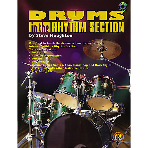 Alfred Drums in the Rhythm Section (Book/CD)