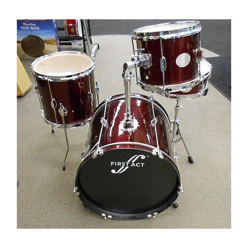 First Act Drumset Drum Kit-thumbnail