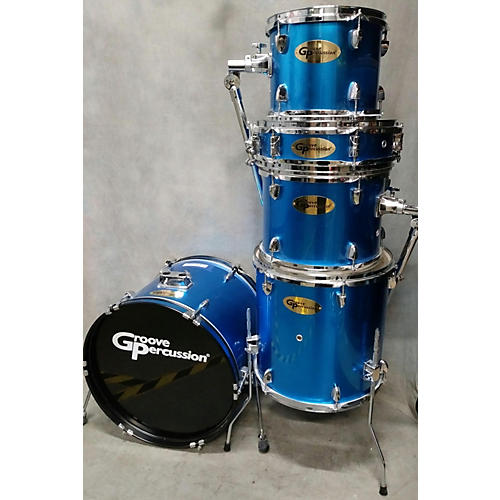 used groove percussion drumset drum kit guitar center. Black Bedroom Furniture Sets. Home Design Ideas