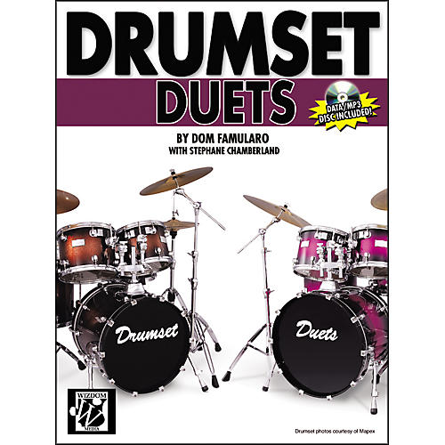Alfred Drumset Duets Book & CD-ROM-thumbnail