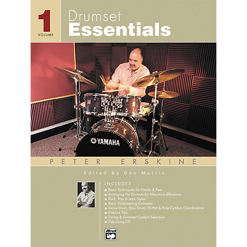 Alfred Drumset Essentials Volume 1 (Book/CD)-thumbnail