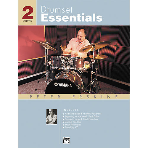 Alfred Drumset Essentials Volume 2 (Book/CD)