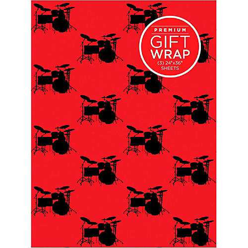 Hal Leonard Drumset Wrapping Paper-thumbnail