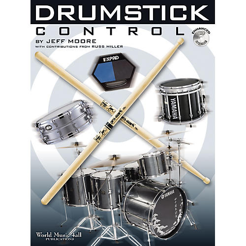 World Music 4all Drumstick Control Book and CD