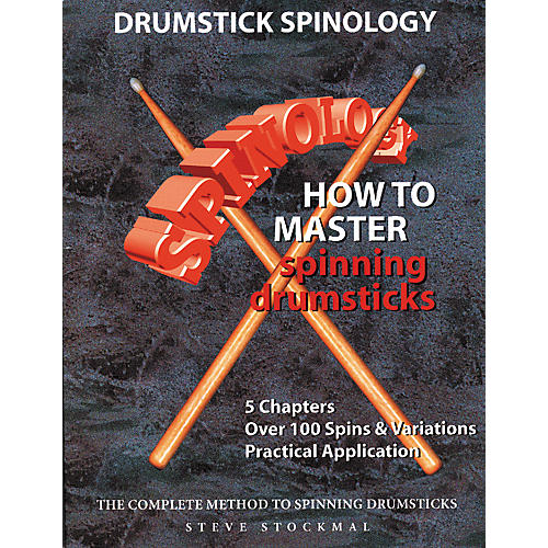 """SMG Drumstick Spinology """" How To Master Spinning Drumsticks (Book/DVD)-thumbnail"""
