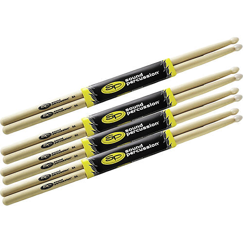 Sound Percussion Labs Drumsticks Buy 3 Get 1 Free, 5A Nylon Tip-thumbnail