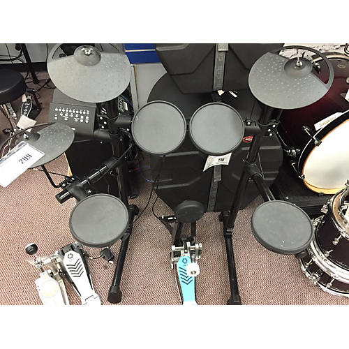 used yamaha dtx430k electric drum set guitar center. Black Bedroom Furniture Sets. Home Design Ideas