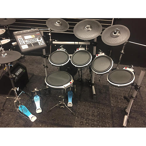 Used yamaha dtxt3 electric drum set guitar center for Electric drum set yamaha