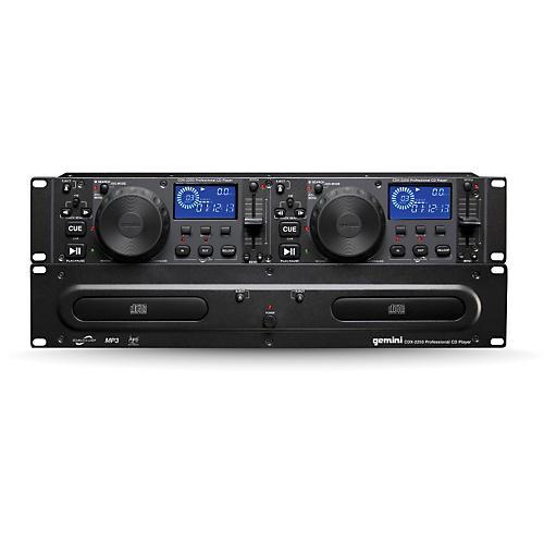 Gemini Dual 2u CD/mp3 Player