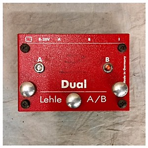 Pre-owned Lehle Dual A/B Pedal by Lehle