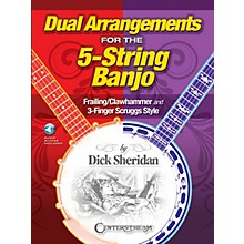 Centerstream Publishing Dual Arrangements for the 5-String Banjo Banjo Series Softcover Audio Online Written by Dick Sheridan