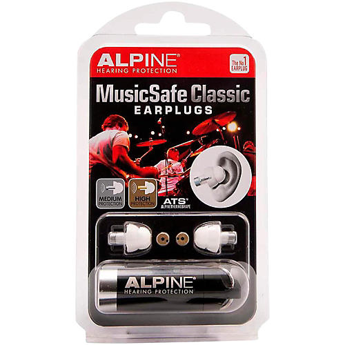 Alpine Hearing Protection Dual Attenuator Earplugs-thumbnail