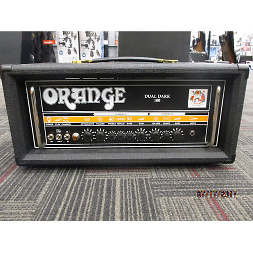 Orange Amplifiers Dual Dark 100 Tube Guitar Amp Head