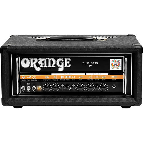 Orange Amplifiers Dual Dark 50W High-Gain Guitar Head-thumbnail