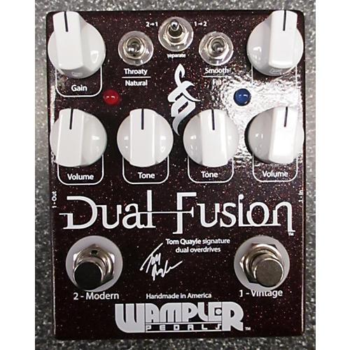 Wampler Dual Fusion Tom Quayle Signature Overdrive Effect Pedal-thumbnail