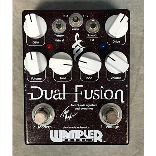 Wampler Dual Fusion Tom Quayle Signature Overdrive Effect Pedal-thumbnail