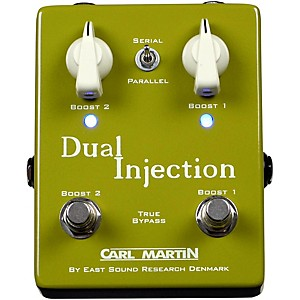 Carl Martin Dual Injection Overdrive Guitar Pedal by Carl Martin