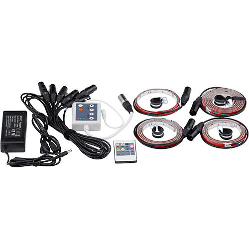 DrumLite Dual LED Banded Lighting Kit for 10/12/14/16/22 Drums-thumbnail