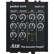 AER Dual-Mix 2 Acoustic Guitar Direct Box and Preamp