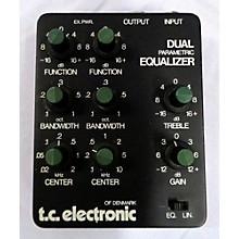 TC Electronic Dual Parametric Equalizer Pedal