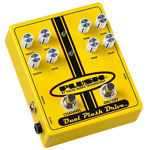 Plush Dual Plush Overdrive Guitar Effects Pedal