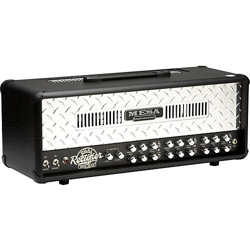 Mesa Boogie Dual Rectifier 100W Tube Guitar Amp Head Black
