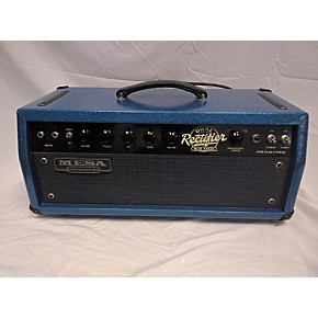 used mesa boogie dual rectifier custom tolex blue angel tube guitar amp head guitar center. Black Bedroom Furniture Sets. Home Design Ideas