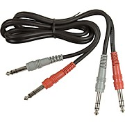 Hosa Dual TRS - TRS Patch Cable