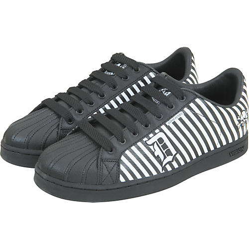 Draven Duane Peters Disaster Stripes Low Top Shoes