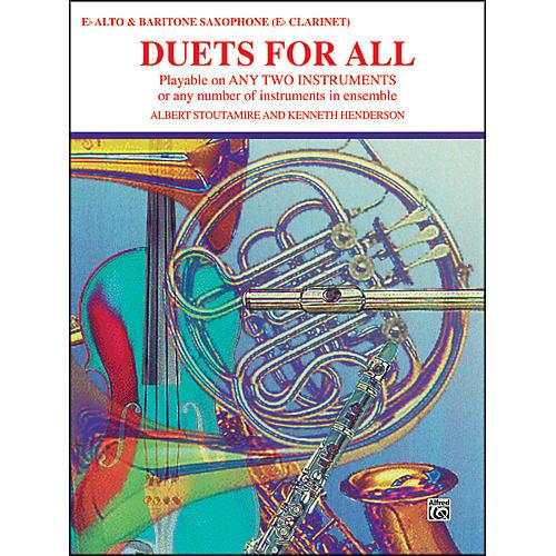 Alfred Duets for All Alto Saxophone (E-Flat Saxes & E-Flat Clarinets)-thumbnail