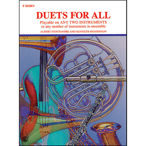 Alfred Duets for All Horn in F-thumbnail