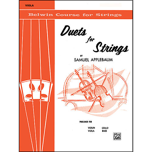 Alfred Duets for Strings Book I Viola-thumbnail
