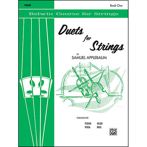 Alfred Duets for Strings Book I Violin-thumbnail