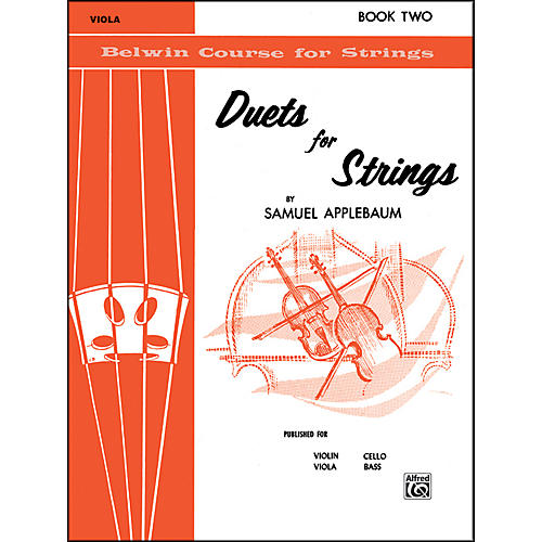 Alfred Duets for Strings Book II Viola-thumbnail