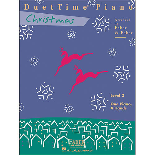 Faber Piano Adventures Duettime Piano Christmas Level 2 One Piano Four Hands - Faber Piano