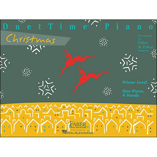 Faber Piano Adventures Duettime Piano Christmas Primer Level One Piano Four Hands - Faber Piano-thumbnail