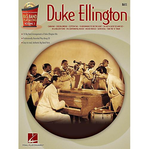 Hal Leonard Duke Ellington - Bass (Big Band Play-Along Volume 3) Big Band Play-Along Series Softcover with CD