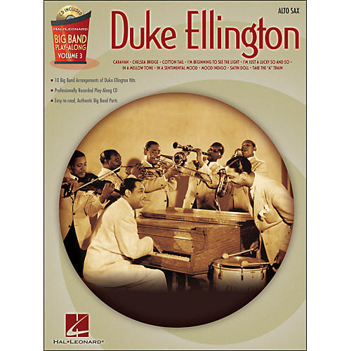 Hal Leonard Duke Ellington Big Band Play-Along Vol. 3 Alto Sax