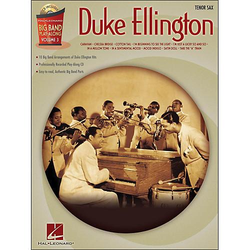 Hal Leonard Duke Ellington Big Band Play-Along Vol. 3 Tenor Sax-thumbnail