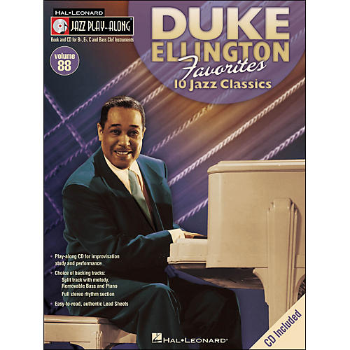 Hal Leonard Duke Ellington Favorites - Jazz Play-Along Volume 88 (CD/Pkg)-thumbnail