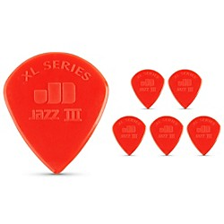 Dunlop Jazz III XL Guitar Picks 6-Pack (47PXLN)