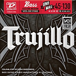 Dunlop Robert Trujillo Icon Series Bass Guitar Strings - Uno Mas 5 String Set