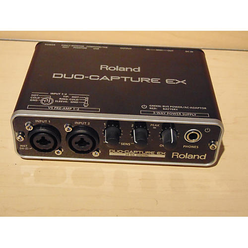 Roland Duo-Capture Ex Audio Interface-thumbnail