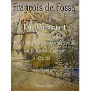 Carl Fischer Duo Concertant Op.16 Ouverture pour l'Opera du Barbier de Seville par D. Ramon Carnicer