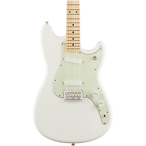 Fender Duo-Sonic Electric Guitar with Maple Fingerboard-thumbnail