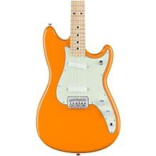 Duo-Sonic Electric Guitar with Maple Fingerboard Capri Orange
