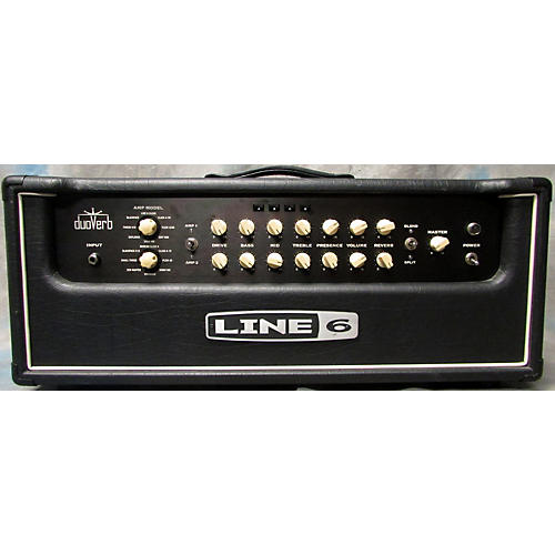 Line 6 Duoverb Modeling Head Solid State Guitar Amp Head-thumbnail