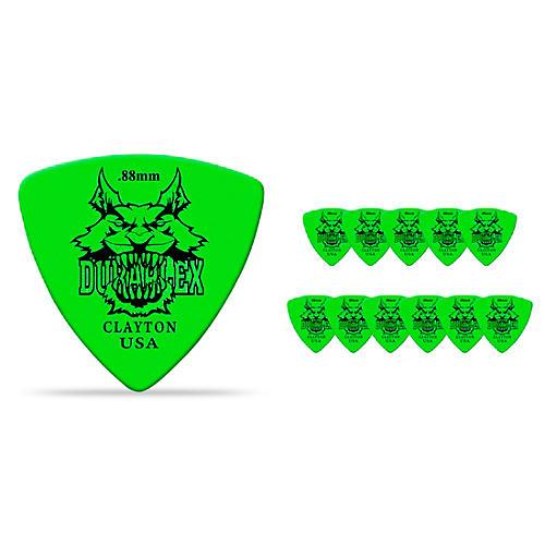 Clayton Duraplex Delrin Rounded Triangle Picks 1 Dozen-thumbnail