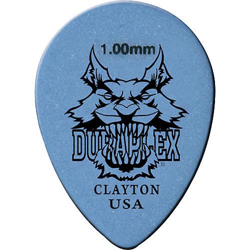 Clayton Duraplex Delrin Small Teardrop Picks 1 Dozen-thumbnail