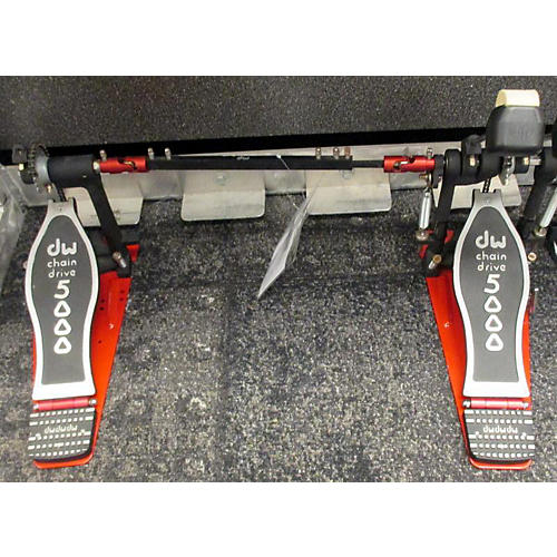 used dw dw5000 doub e bass drum pedal double bass drum pedal guitar center. Black Bedroom Furniture Sets. Home Design Ideas